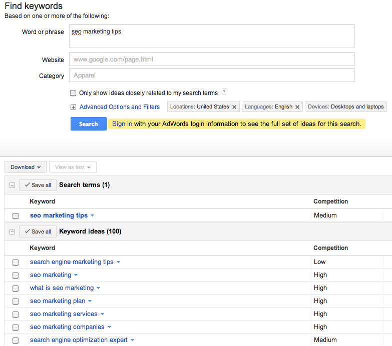 keyword-research-tips